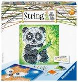 Ravensburger 18029 - String it Midi, Panda und Fox, Bastelset