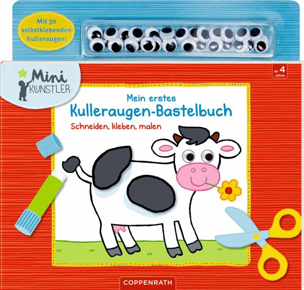 Mein erstes Bastelbuch Schneiden Mein kleiner Ponyhof malen Buch 2018 kleben