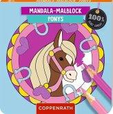 Mandala-Malblock Ponys