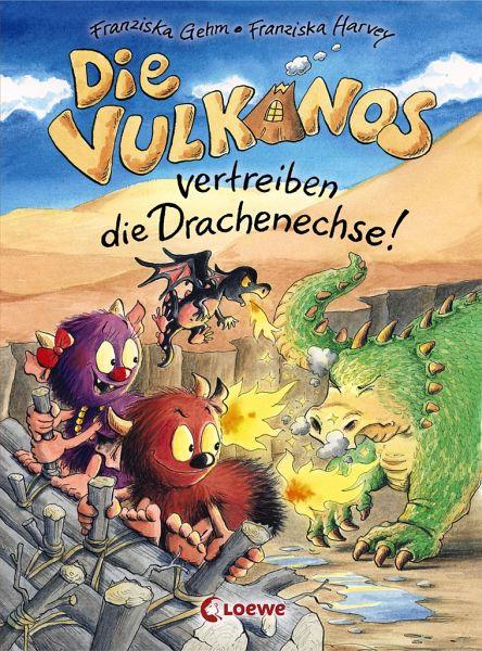 Buch-Reihe Vulkanos von Franziska Gehm