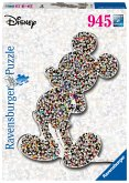 Ravensburger 16099 - Disney Shaped Mickey, Puzzle, 1000 Teile