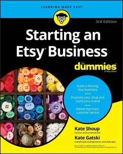 Starting an Etsy Business For Dummies (eBook, PDF) - Shoup, Kate; Gatski, Kate