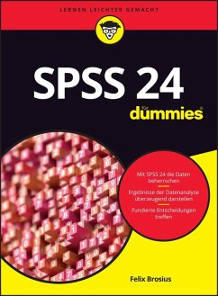 SPSS 24 für Dummies (eBook, ePUB) - Brosius, Felix