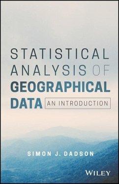 Statistical Analysis of Geographical Data (eBook, ePUB) - Dadson, Simon James