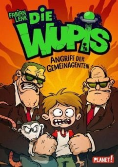 Angriff der Gemeinagenten / Die Wupis Bd.2 (Mängelexemplar) - Lenk, Fabian
