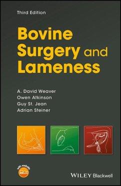 Bovine Surgery and Lameness (eBook, ePUB) - Weaver, A. David; Atkinson, Owen; St. Jean, Guy; Steiner, Adrian