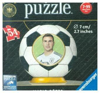 FC Bayern München 3D Puzzle Erlebe Puzzeln in der 3 Utensilo Dimension Spiel