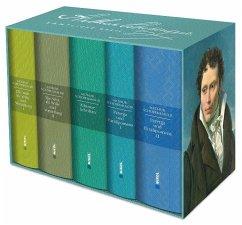 Schopenhauer: Sämtliche Werke in fünf Bänden im Schuber - Schopenhauer, Arthur