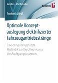 Optimale Konzeptauslegung elektrifizierter Fahrzeugantriebsstränge (eBook, PDF)