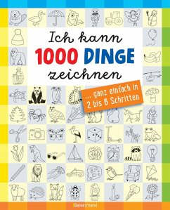 Ich kann 1000 Dinge zeichnen.Kritzeln wie ein Profi! (eBook, ePUB) - Pautner, Norbert