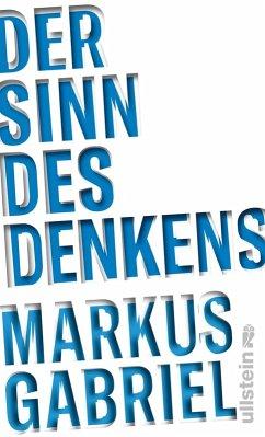 Der Sinn des Denkens (eBook, ePUB) - Gabriel, Markus