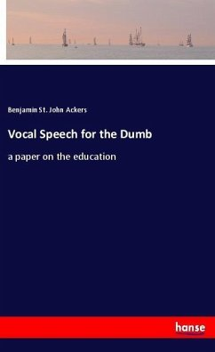 Vocal Speech for the Dumb
