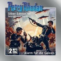 Alarm für die Galaxis / Perry Rhodan Silberedition Bd.44 (1 MP3-CD) - Darlton, Clark; Kneifel, Hans; Voltz, William