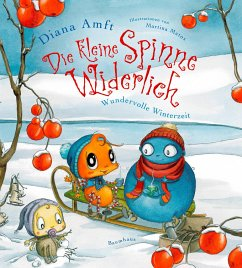 Wundervolle Winterzeit / Die kleine Spinne Widerlich Bd.7 - Amft, Diana; Matos, Martina