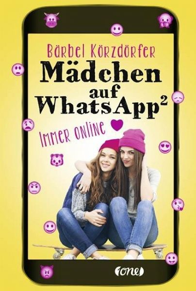 Buch-Reihe Mädchen auf WhatsApp