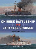 Chinese Battleship vs Japanese Cruiser