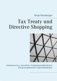 Tax Treaty und Directive Shopping (eBook, ePUB)