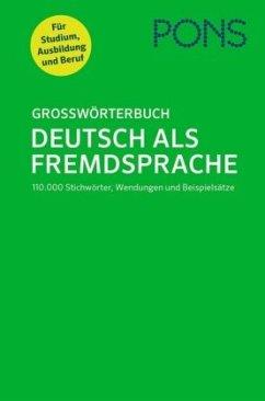 PONS Großwörterbuch Deutsch als Fremdsprache