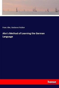 Ahn´s Method of Learning the German Language