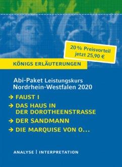Abitur Deutsch Leistungskurs Nordrhein-Westfalen 2020 - Königs Erläuterungen-Paket. - Goethe, Johann Wolfgang von; Kleist, Heinrich von; Hoffmann, E. T. A.