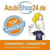 AzubiShop24.de Kombi-Paket Lernkarten Technische/-r Produktdesigner/-in