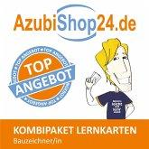 AzubiShop24.de Kombi-Paket Lernkarten Bauzeichner/-in