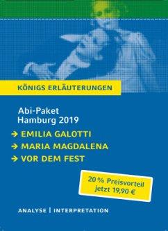 Abi-Paket Hamburg 2019 & 2020 - Hebbel, Friedrich; Lessing, Gotthold Ephraim; Stanisic, Sasa