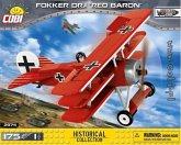 Cobi 2974 - Historical Collection, Fokker Dr.i Red Baron, Konstruktiondspielzeug, Bausatz, 175 Teile