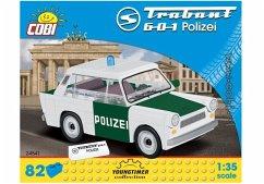 COBI Youngtimer 24541 - Trabant 601 Polizei, 82 Teile
