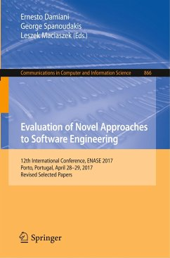 Evaluation of Novel Approaches to Software Engi...