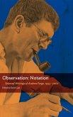 Observation: Notation (eBook, ePUB)