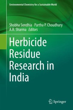 Herbicide Residue Research in India