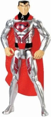 DC Justice League Action Basis-Figur (30 cm) Krypton Tech Superman