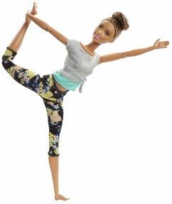 Mattel FTG82 Barbie Made to Move Puppe (brünett)