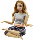 Mattel FTG84 Barbie Made to Move Puppe (blond strawberry)