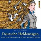 Deutsche Heldensagen, 2 Audio-CDs