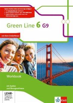 Green Line 6 G9. Workbook. Workbook mit Audio-CDs und Übungssoftware Klasse 10