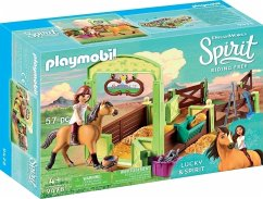 PLAYMOBIL® 9478 Pferdebox ´´Lucky & Spirit´´