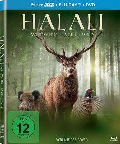 Halali - Weidwerk, Jäger, Wild (Blu-ray 3D + Bl...