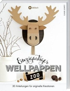 Einzigartiger Wellpappen-Zoo