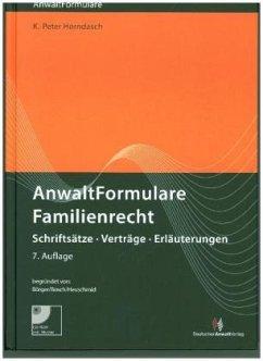 AnwaltFormulare Familienrecht - Horndasch, K.-Peter