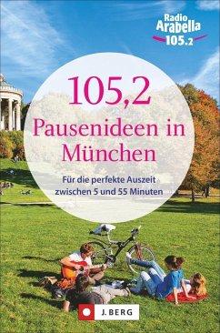105,2 Pausenideen in München (Mängelexemplar) - Kozel, Nina; Hellmann, Claudia; Fuchs, Stephan