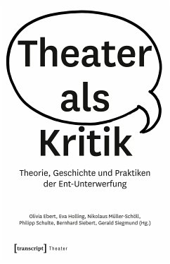 Theater als Kritik (eBook, PDF)