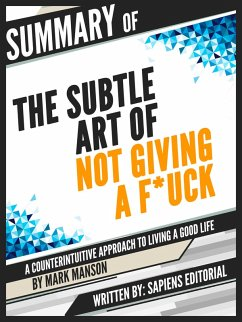 Summary Of ´´The Subtle Art of Not Giving a F*c...