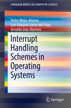 Interrupt Handling Schemes in Operating Systems