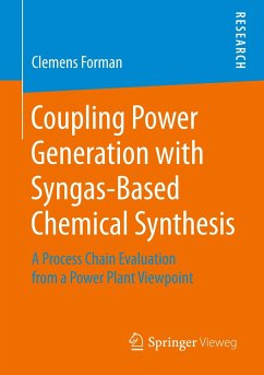 Coupling Power Generation with Syngas-Based Che...