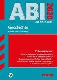 Abi - auf einen Blick! Geschichte Baden-Württemberg 2020