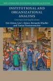 Institutional and Organizational Analysis: Concepts and Applications