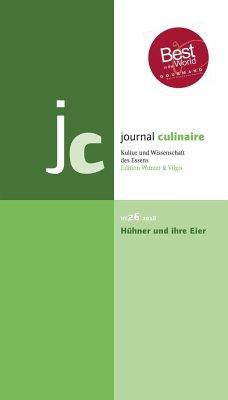 journal culinaire. Kultur und Wissenschaft des ...