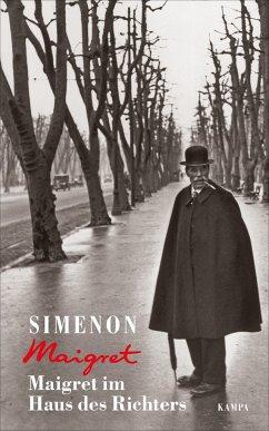 Maigret im Haus des Richters / Maigret Bd.21 - Simenon, Georges